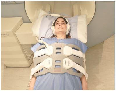 Положение пациента при МРТ