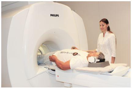 Положение при МРТ